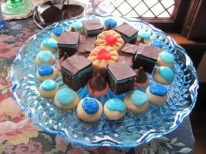 Food - Cookies pedestal