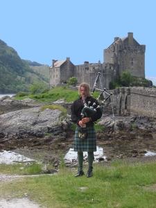 Scottish Bagpipe player 5