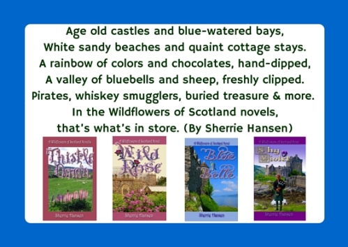Age old castles and blue-watered bays,White sandy beaches and quaint cottage stays.A rainbow of colors and chocolates, hand-dipped,A valley of bluebells and sheep, freshly clipped. Legends galore, buried treasure, and